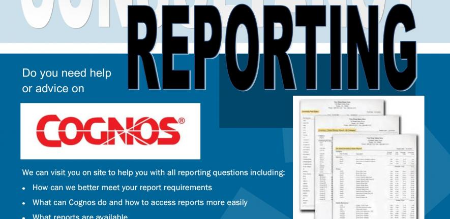 Consultancy services offered by the Reporting Team